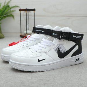 Nike Air Force 1 Just do it shoes High Top Sneaker